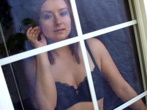 Amy Amethyst's bedroom window
